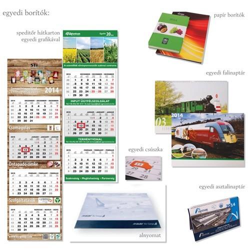 Egyedi naptárborítók