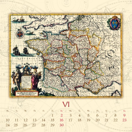 T092 Antique Maps, , belső 6